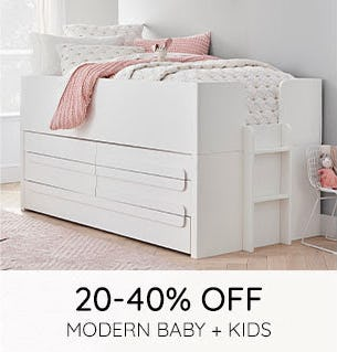 20-40% Off on Modern Baby + Kids from Pottery Barn Kids