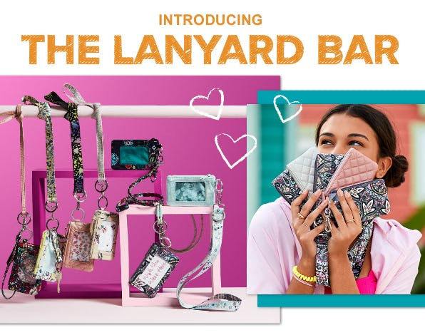 Introducing The Lanyard Bar from Vera Bradley