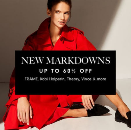 New Markdowns Up to 60% Off from Neiman Marcus