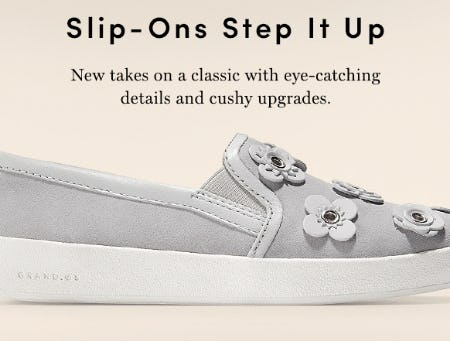 Shop Our Slip-Ons