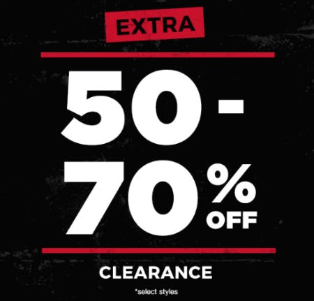 Extra 50-70% Off Clearance from Tillys