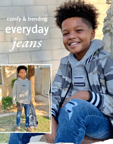 New Jeans Just Dropped from Abercrombie Kids