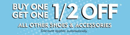 BOGO 1/2 Off All Other Shoes & Accessories from Shoe Carnival