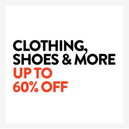 Up to 60% Off Clothing, Shoes & More from Nordstrom