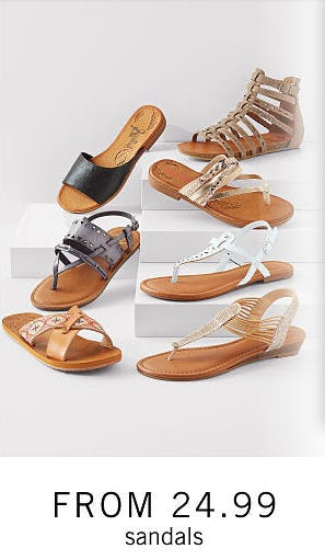 Sandals From $24.99 from Belk Men's