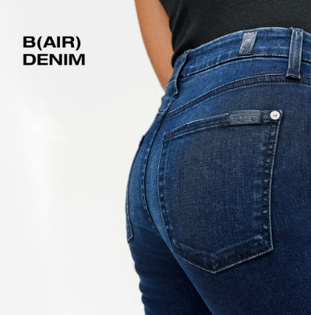 B(air) Denim from 7 for All Mankind