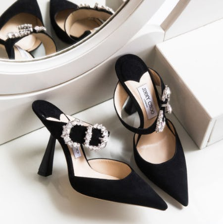 Be Inspired: Modern Monochrome from Jimmy Choo