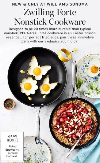 Introducing Zwilling Forte Nonstick Cookware from Williams-Sonoma