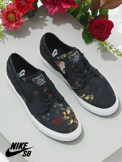 The Elegant & Best-Selling Nike SB Janoski Floral Canvas Shoes from Zumiez