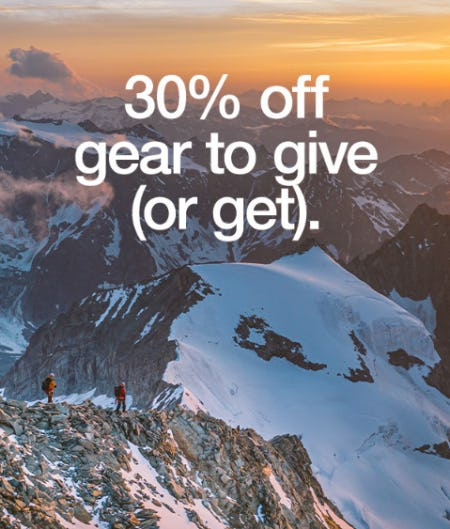 30% Off Gear to Give (or Get) from The North Face