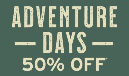 Adventure Days 50% Off from Eddie Bauer