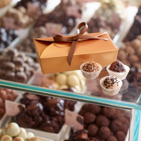 Personalize Your Own Chocolate Box! from Godiva Chocolatier