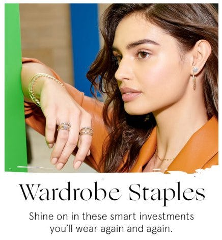 Wardrobe Staples from Zales The Diamond Store