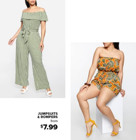 Jumpsuits & Rompers From $7.99 from Rainbow
