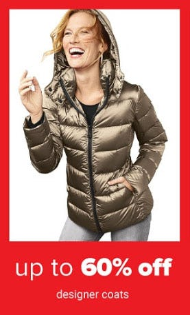 Up to 60% Off Designer Coats from Belk