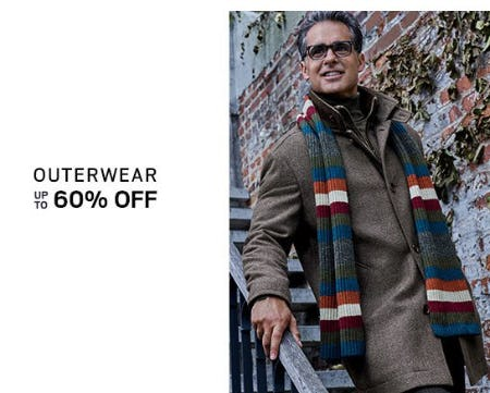 Outerwear up to 60% Off from Men's Wearhouse