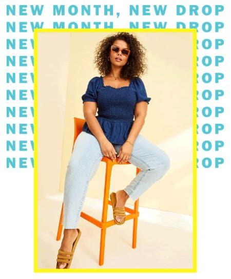 New Month, New Drop from Old Navy