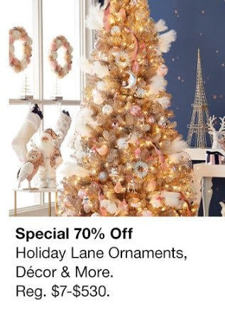70% Off Holiday Lane Ornaments