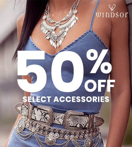 We Have a Sale on Accessories! from Windsor