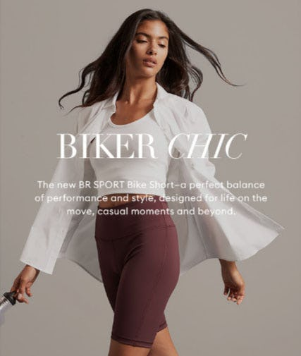 New: BR Sport Bike Short from Banana Republic