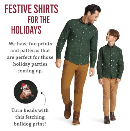 Festive Shirts for The Holidays