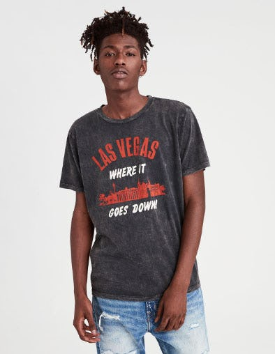 Las Vegas Graphic Tee from American Eagle Outfitters