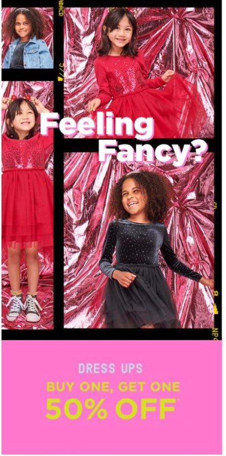 BOGO 50% Off Dress Ups from Cotton On Kids