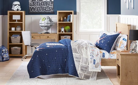 Star Wars for Pottery Bard Kids from Pottery Barn Kids