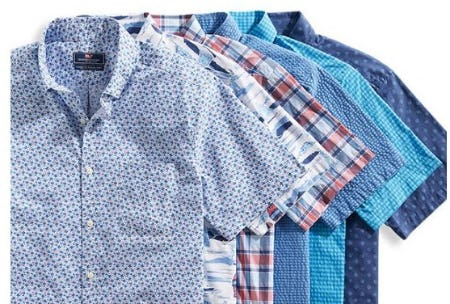 Meet the Short-Sleeve Button-Downs from vineyard vines