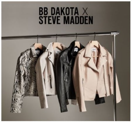 New Moto Jackets just Dropped from Steve Madden