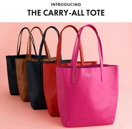 Introducing the Carry-All Tote