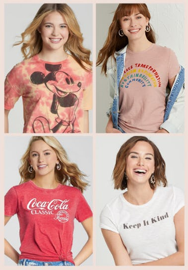 Must-Have Graphic Tees from Stein Mart