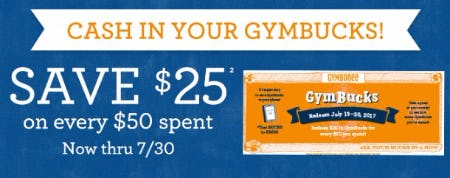 Save $25 on Every $50 Spent