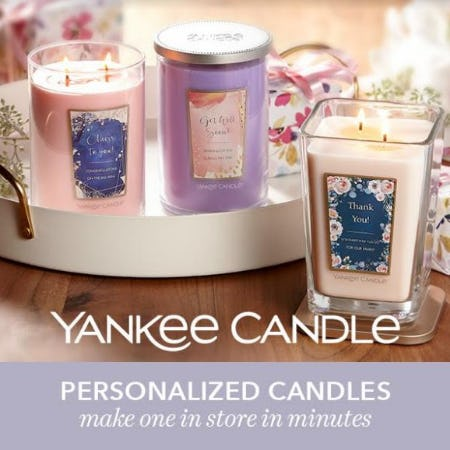 ALL Large Candles – 2 for $40 or 3 for $54 from Yankee Candle