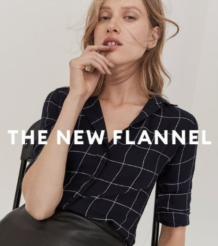 The New Flannel Shirts from Banana Republic