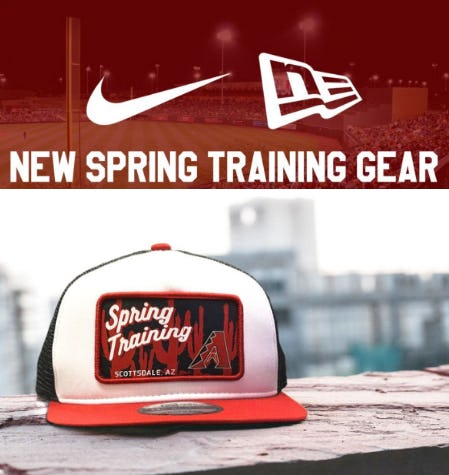 New Spring Training Gear from Just Sports