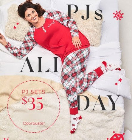 $35 PJ Sets from Lane Bryant