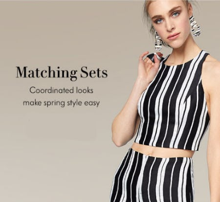 Matching Sets from Neiman Marcus