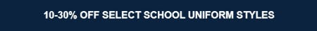 10-30% Off Select School Uniform Styles from Lands' End