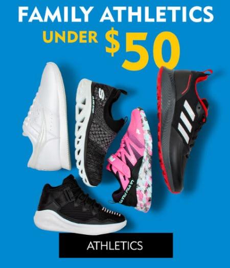 Family Athletics Under $50