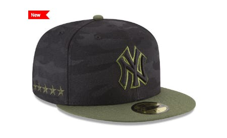 New York Yankees New Era 2018 MLB Memorial Day 59FIFTY Cap from Lids