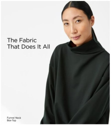 The Do-It-All Fabric from Eileen Fisher