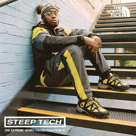 The North Face Steep Tech Collection from EbLens Clothing and Footwear
