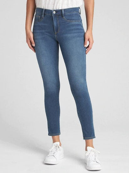 Soft Wear Mid Rise Knit Favorite Jeggings from Gap
