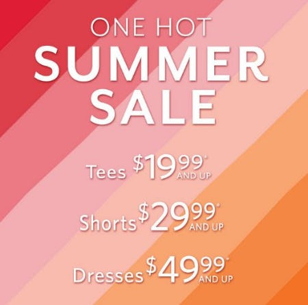 One Hot Summer Sale from White House Black Market