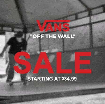 c7d83384d56 Vans Sale Starting at  34.99 at Zumiez