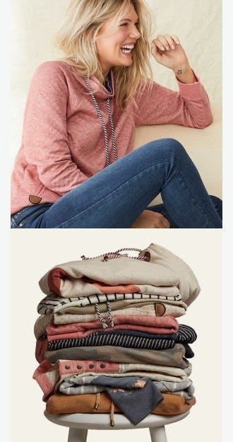 Warm Up & Chill Out With New Sweatshirts from maurices