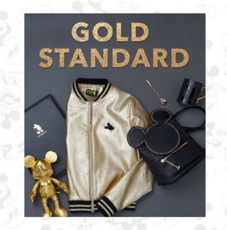 New Mickey Mouse Gold Collection from Disney Store