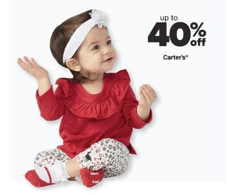 Up to 40% Off Carter's from Belk