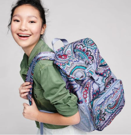 Lighten Up Daytripper Backpack from Vera Bradley